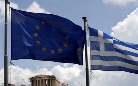 The political crisis in Greece continues to damage the Euro